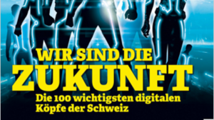 "Einer der 100 ""Digital Shapers""!"